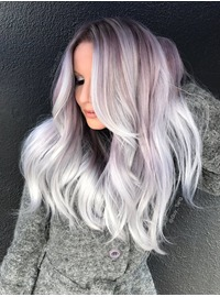 Silver Smoke & Dusty Lavender combo