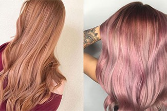 Create rose gold delights with Kenra Color®