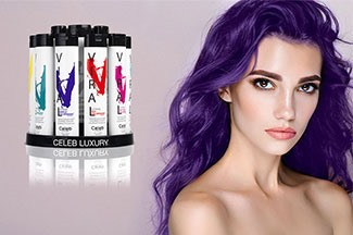 Create beautiful vivids and pastels that won't fade with Celeb Luxury®