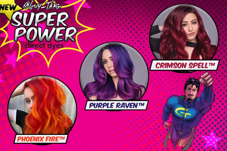Create vivid, vibrant hair with Guy Tang's Super Powers