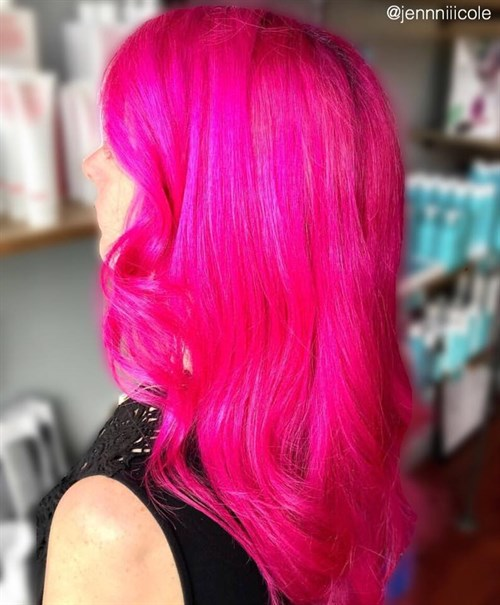 Celeb Luxury Viral Hot Pink Jennniiicole